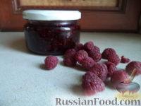 Фото к рецепту: Варенье из малины без воды