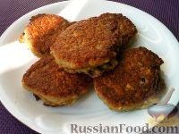 Фото к рецепту: Оладьи из баклажанов (сырых)