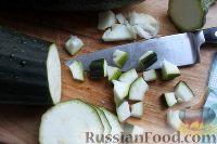 Фото приготовления рецепта: Кабачки «как грузди» - шаг №2