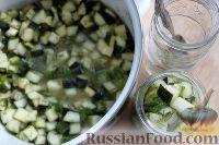 Фото приготовления рецепта: Кабачки «как грузди» - шаг №9