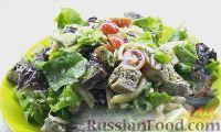 Фото к рецепту: Салат из кальмаров