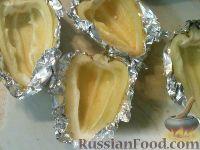 Фото приготовления рецепта: Болгарский перец, запеченный с рисом и овощами - шаг №4