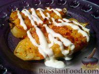 Фото приготовления рецепта: Болгарский перец, запеченный с рисом и овощами - шаг №9