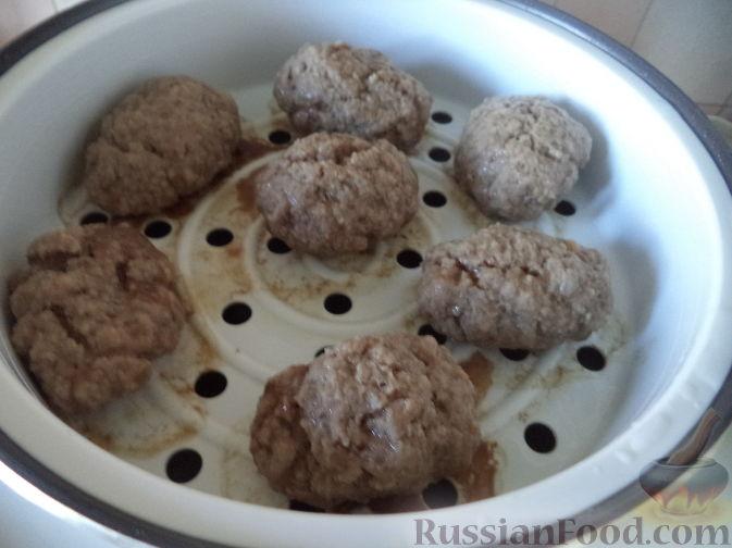 Фото приготовления рецепта: Борщ с квашеной капустой и фасолью - шаг №16