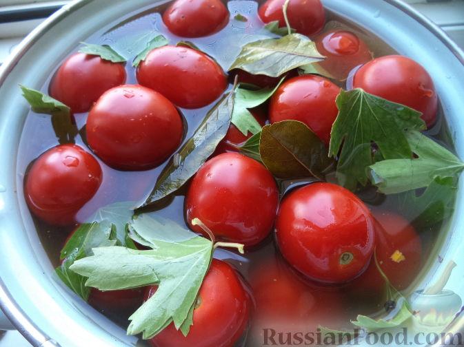 соленые помидоры рецепт с фото