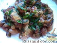 Фото к рецепту: Свинина с фасолью