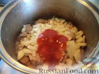 Фото приготовления рецепта: Свинина с фасолью - шаг №7