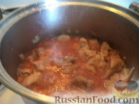 Фото приготовления рецепта: Свинина с фасолью - шаг №8