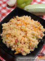 Фото к рецепту: Кускус с овощами