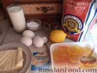Фото приготовления рецепта: Кекс на простокваше - шаг №1