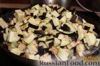 Фото приготовления рецепта: Закуска из баклажанов (на зиму) - шаг №3
