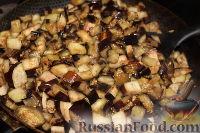 Фото приготовления рецепта: Закуска из баклажанов (на зиму) - шаг №4