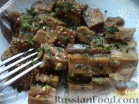 Фото приготовления рецепта: Баклажаны, соленые с чесноком - шаг №12