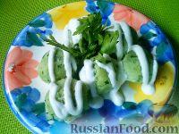 Фото к рецепту: Галушки рисовые
