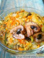 Фото к рецепту: Овощная икра с грибами