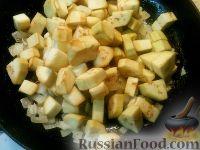 Фото приготовления рецепта: Баклажаны, тушенные в сметане - шаг №4