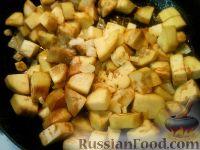 Фото приготовления рецепта: Баклажаны, тушенные в сметане - шаг №5