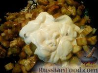Фото приготовления рецепта: Баклажаны, тушенные в сметане - шаг №6