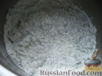 Фото приготовления рецепта: Соус сметанный с чесноком и укропом - шаг №6