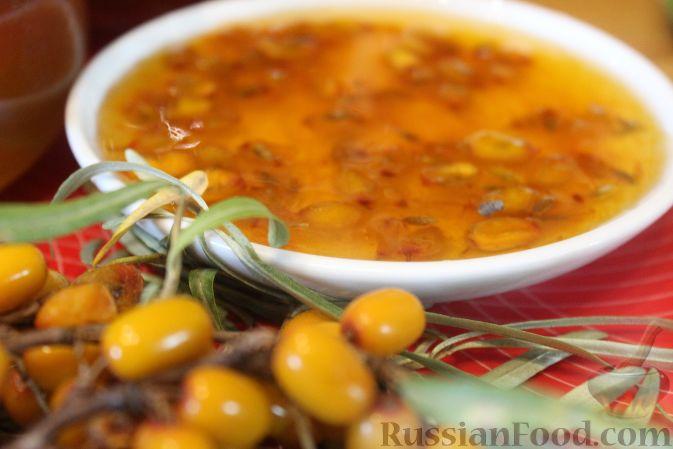 Фото приготовления рецепта: Варенье из облепихи - шаг №10
