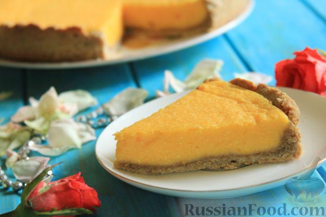 Пирог из тыквы с творогом рецепт 81