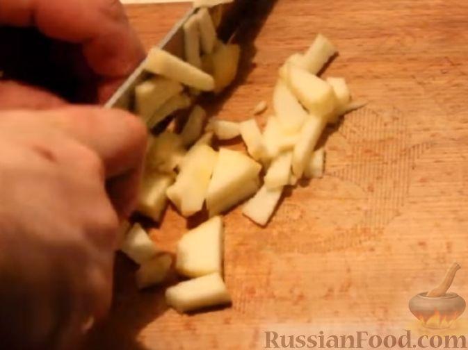 Фото приготовления рецепта: Отрывной яблочный пирог - шаг №19
