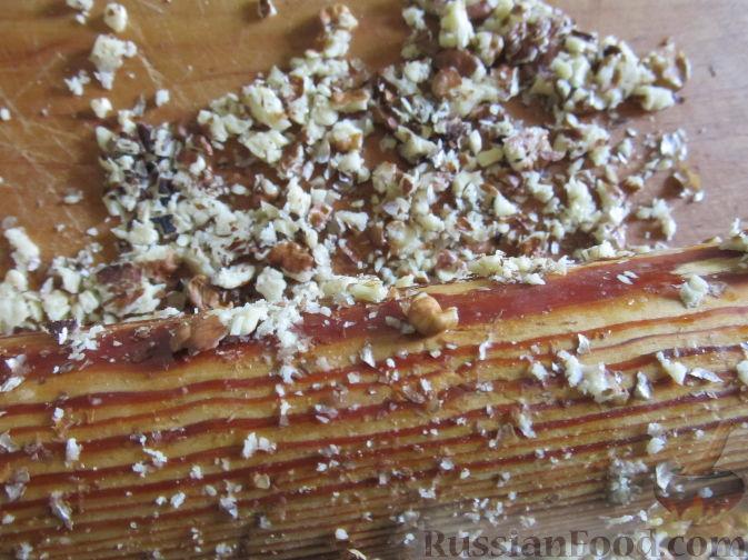 Фото приготовления рецепта: Сдобные булочки с пудингом - шаг №13