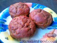 Фото к рецепту: Свекольно-рисовые кексы