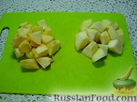 """Фото приготовления рецепта: Детский салат """"Гав-гав"""" с виноградом - шаг №3"""