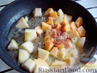 """Фото приготовления рецепта: Детский салат """"Гав-гав"""" с виноградом - шаг №4"""