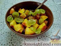 """Фото приготовления рецепта: Детский салат """"Гав-гав"""" с виноградом - шаг №8"""
