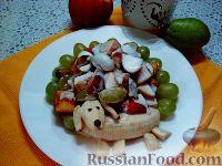 """Фото приготовления рецепта: Детский салат """"Гав-гав"""" с виноградом - шаг №13"""