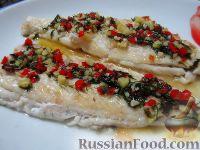 Фото к рецепту: Жареная рыба с острым соусом