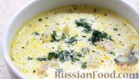 Фото к рецепту: Сливочный суп с морепродуктами