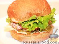 Фото к рецепту: Крабсбургер (Crab′s Burger)