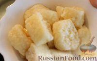Фото к рецепту: Ленивые вареники с творогом