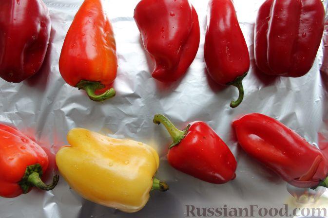 Рецепт болгарского перца на зиму в духовке
