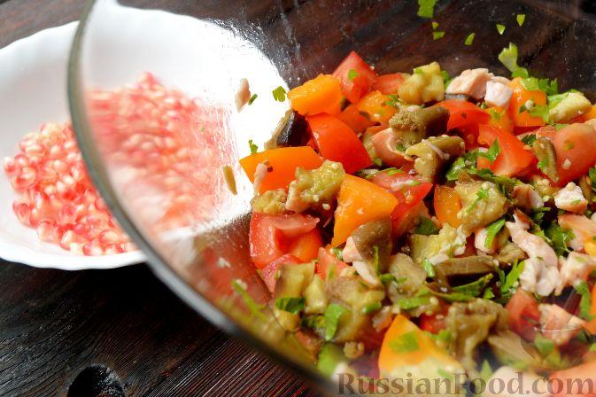 Салат с гранатом - рецепты с фото на Повар.ру (59 рецептов ...