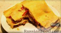 Фото к рецепту: Лазанья со свиным фаршем и соусом бешамель