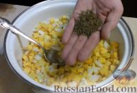 Фото приготовления рецепта: Манты с тыквой - шаг №8