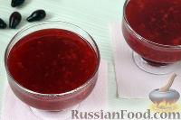 Фото приготовления рецепта: Кисель из кизила - шаг №7