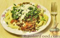 Фото к рецепту: Итальянская паста (с мясным соусом)