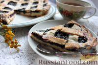 Фото к рецепту: Пирог с черникой