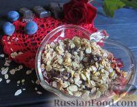 Фото к рецепту: Сливовый десерт с шоколадом