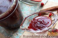 Фото к рецепту: Соус-желе из красной рябины (к мясу)