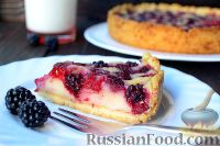 Песочный пирог с малиной рецепты 111