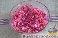 Фото приготовления рецепта: Салат «Освежающий» со сметаной и хреном - шаг №9