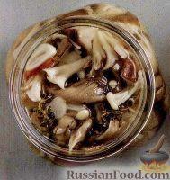 Фото к рецепту: Маринованные грибы