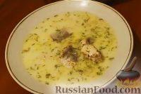 Фото к рецепту: Финский сливочный суп с лососем (Лохикейто)