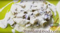 Фото к рецепту: Фрикасе из курицы с грибами